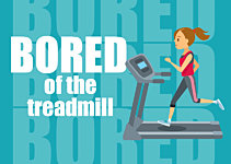 How To Not Get Bored Running on a Treadmill