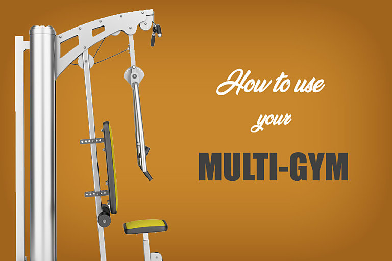 How to use multi gym equipment