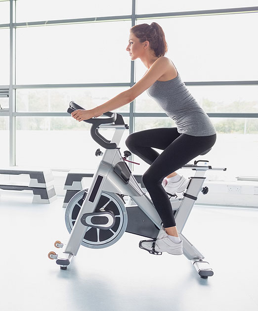 Indoor cycling low impact