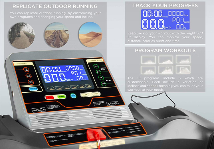 JLL S300 Treadmill Display