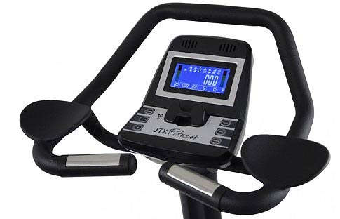 The JTX Cyclo 5 console is easy to read and packed with good info.
