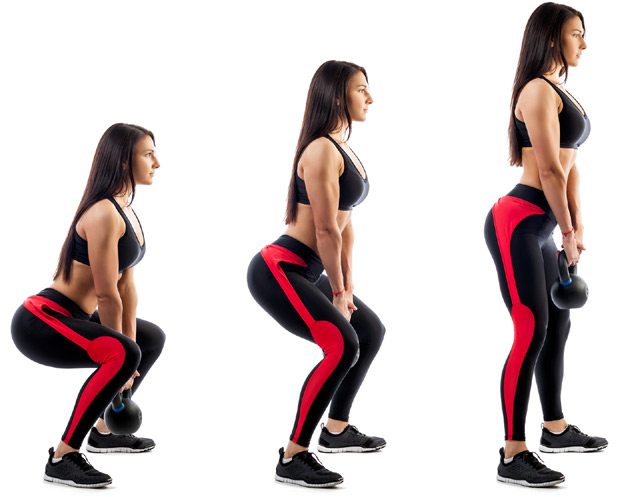 Kettle bell form