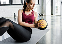Easy Medicine Ball Exercises You Can Do At Home