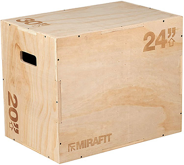 Mirafit 3-in-1 Plyo Box