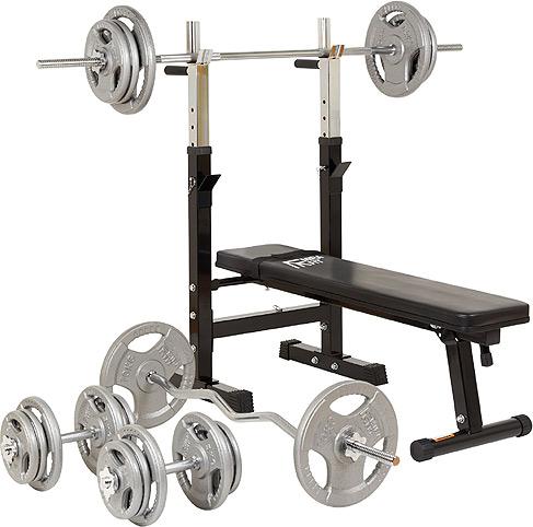 Mirafit M1 Weight Lifting Starter Kit