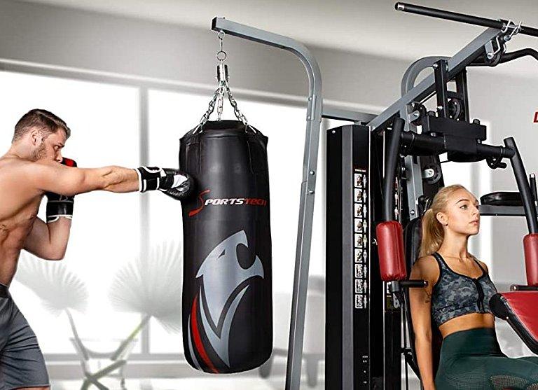 Multi Gym with Punching Bag