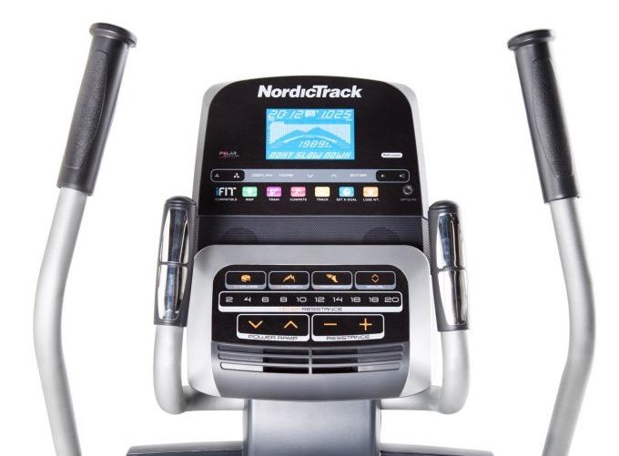 NordicTrack E11.5 Display