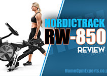 NordicTrack RW-850 Rowing Machine Review