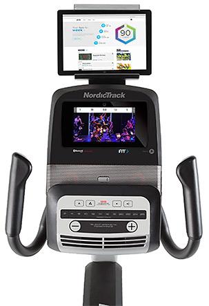 NordicTrack VR25 screen