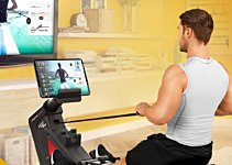 Using Your Rowing Machine With a Screen: Quick Start Guide
