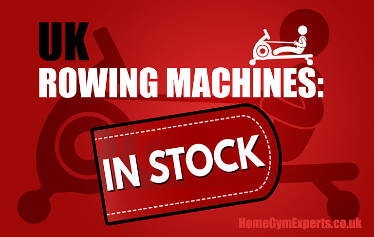 Rowing Machines Back in Stock