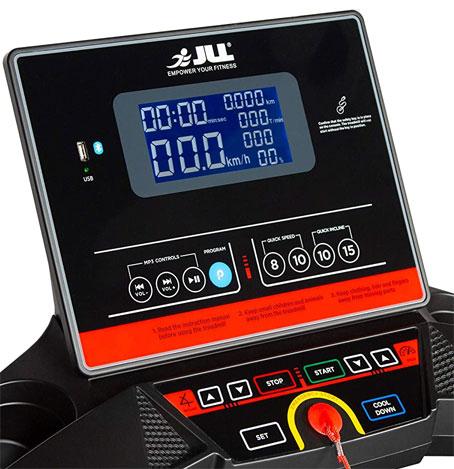Treadmill display