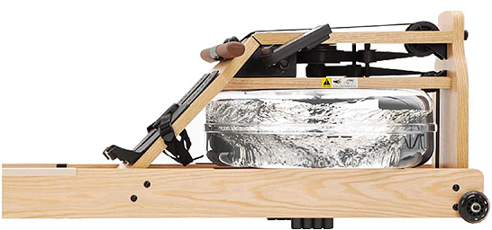Water rower for tall people