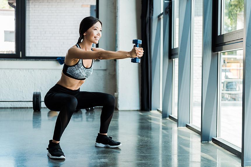 Gym leg exercise gear