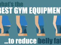 What's the best gym equipment to lose belly fat?