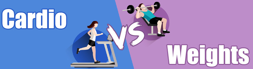 cardio vs weights small
