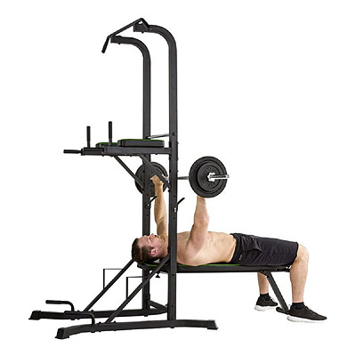 Dip and chin up - with bench press
