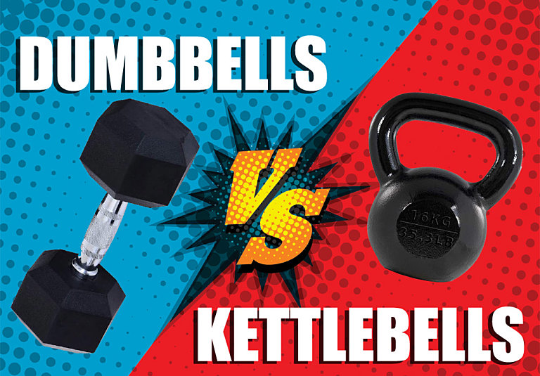 Can You Use Dumbbells Instead of Kettlebells?