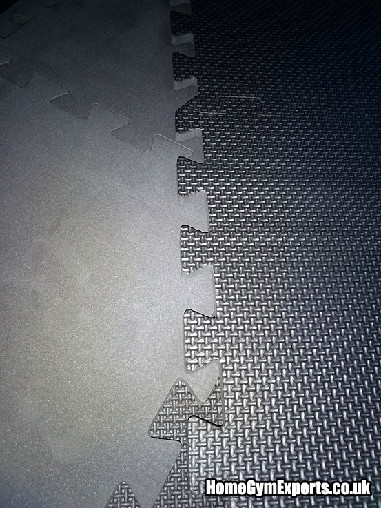 Double sided gym mats