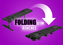 Folding Weights Benches: No Room? No Problem.