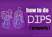 How to do dips properly - master this compound exercise!