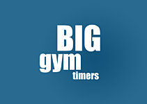 Large Digital Wall Clock for Gyms