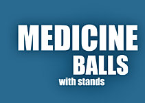 Keep it Tidy: Medicine Balls That Come With A Stand