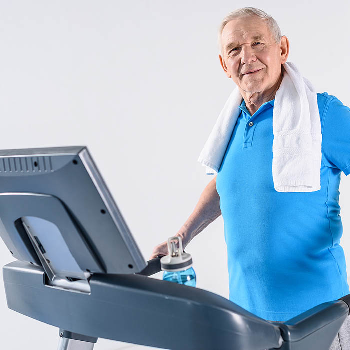 Treadmills are a great way to start running if you're over 60