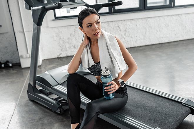 Treadmill Mistakes - hydration